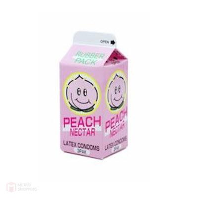 ถุงยางญี่ปุ่น Nakanishi Peach Nectar Condom