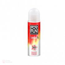 ForFun เจลหล่อลื่นฟอฟัน ฟีโรโมน Premium 2in1 Massage & Lubricant 85 ml. สูตร Warm