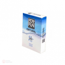ForFun เจลหล่อลื่นฟอฟัน ฟีโรโมน Premium 2in1 Massage & Lubricant สูตร Natural 1 กล่อง 3 ซอง