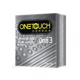 ถุงยางอนามัย One Touch Mixx 3 (ปุ่มและขีด)