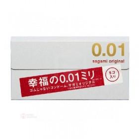 ถุงยางญี่ปุ่น Sagami Original 001  box of 5