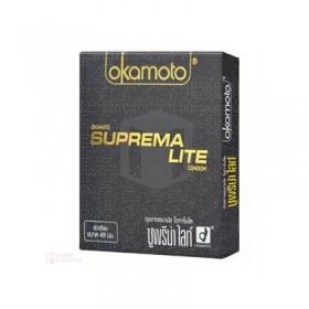 ถุงยางอนามัย Okamoto Suprema Lite (ไซต์ 49 ขนาดเอเขีย)
